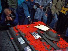 Poppies are laid on the Tomb of the Unknown Soldier on Remembrance Day in Ottawa. Armistice Day, I Am Canadian, Unknown Soldier, God's Heart, Lest We Forget, Remembrance Day, Poppies, Canada, Heart Breaks