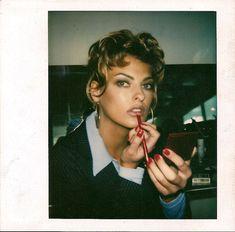 Stephane Marais Polaroid Book Beauty Flash Linda Evangelista