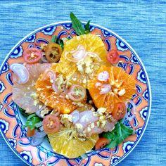 Winter Citrus Salad With Honey Vinaigrette
