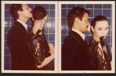 Michael & Tina Chow, London. 1975. Antonio Lopez & Juan Ramos.