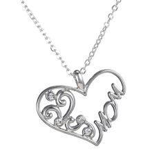 Mother and Child Pendant Necklace Perfect gift for your mom. Silver plated. Brand new. Good quality. Jewelry Necklaces