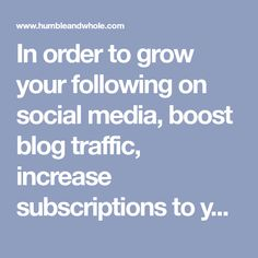 In order to grow your following on social media, boost blog traffic, increase subscriptions to your mailing list, and make more sales, you have to talk to the RIGHT people. If you're having trouble finding your tribe, click through to learn how to find them!
