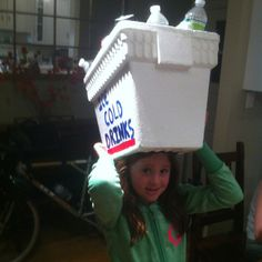 Hannah wins 2nd place at Crazy Hat day #diy