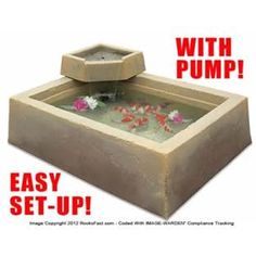 Smartpond patio pond kit at my future backyard for Koi pond kits lowes