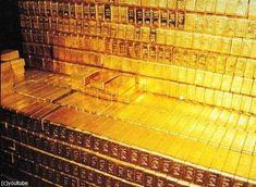 30兆円分の「金塊」どのくらいかわかる?→イングランド銀行に貯蔵された純金                                                                                                                                                                                 もっと見る