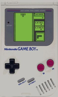 Tetris // Nintendo Game Boy #retrogames