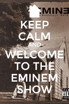 First pin on this board. It only makes sense #Eminem