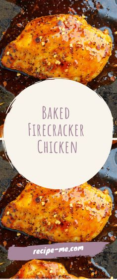 Baked Firecracker Chicken – My4Recipes Spicy Recipes, Crockpot Recipes, Cooking Recipes, Meal Recipes, Healthy Cooking, Dinner Recipes, Turkey Dishes, Turkey Recipes, Chicken Wing Recipes
