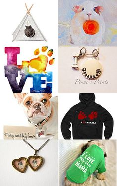 We love pets by Anna Klyukina on Etsy--Pinned with TreasuryPin.com