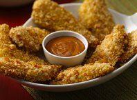 Parmesan Garlic and Herb Chicken Tenders recipe from Betty Crocker