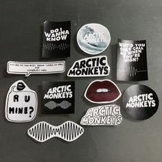 Shop the latest Arctic Monkeys Stickers products from haricase, bestplayever on Etsy, phone case story and more on Wanelo, the world's biggest shopping mall. Arctic Monkeys Wallpaper, Monkey Wallpaper, Look Wallpaper, Ghost Cookies, Monkey 3, The Last Shadow Puppets, Canvas Painting Tutorials, Anime Merchandise, Aesthetic Indie