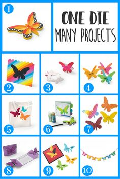 Save money with any die you have by using it 10 different ways! #ellisoneducation #ellisonedu #onediemanyways #butterfly #moneysaving #diecutting #classroomhelp