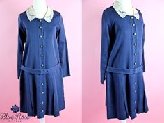 1920s flapper dress / 20s blue dress / holiday by BlueRoseVintage, $285.00