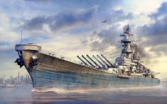 acorazado missouri, USS Missouri
