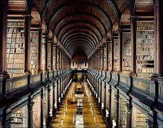 library, any. This is Trinity College in Dublin (a gorgeous library, and I could live in the rare books section if they'd let me near it)