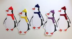 I created these penguins for my Penguins and Polar Bears Storytime and then decided to get some extra use out of them by making them into a color matching activity board.  Here's the penguin …