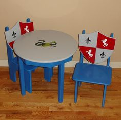 Lil' Knights of the Round Table Set