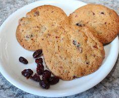 Cranberry, Cookies, Thermomix, Rezept