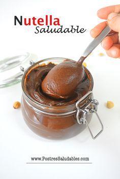 https://youtu.be/gHscdLx6S6E Nutella Saludable y súper ligera... sigue el paso a paso de la video receta!!