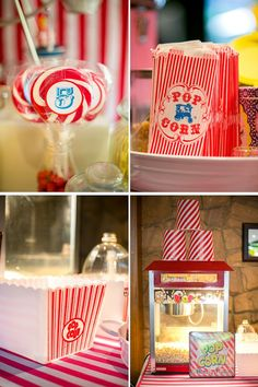Circus Carnival Boy Girl 5th Birthday Party Planning Ideas Supplies Ideas