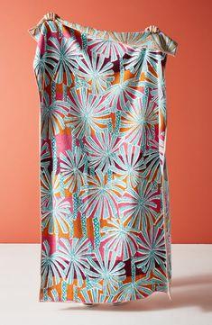 Anthropologie Palm Beach Cotton Beach Towel, Size One Size - Beige Luxury Beach Towels, Winter Bedding, Beige Bed Linen, Beach Gear, Beach Toys, Tropical Colors, Batik Dress, Cotton Towels, Palm Beach
