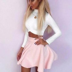 Carter Ann Rouged Front Crop Top   #Fashion #dresses #DreamClosetCouture #rompers #love