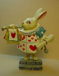 Alice in Wonderland White Rabbit Figure Kaiyodo by TerrillCSmith, $22.00