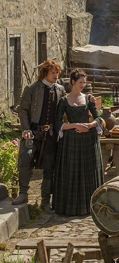 "18 th century Scotland - ""Outlander"" series - 'Jamie' and 'Claire' at Lallybroch"