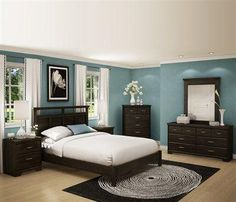 how to turn your bedroom into a stress free oasis dark furniture and wall colors - Brown Bedroom Colors