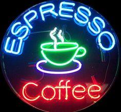 Espresso Coffee neon sign