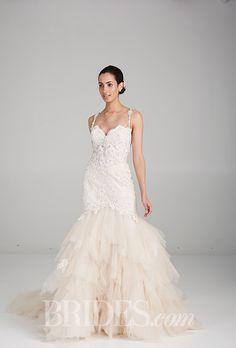Brides: Eve of Milady Wedding Dresses - Spring 2016 - Bridal Runway Shows - Brides.com