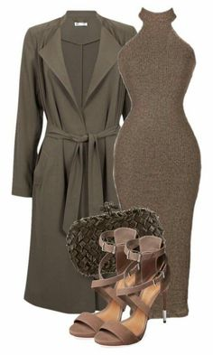 A fashion look from October 2015 featuring white evening dresses, ankle strap shoes and leather clutches. Browse and shop related looks. Night Outfits, Classy Outfits, Sexy Outfits, Stylish Outfits, Fall Outfits, Fashion Outfits, Womens Fashion, Fashion Trends, Look Fashion