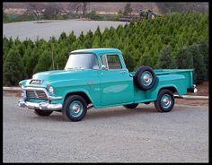 1957 GMC 1/2 Ton Pickup 283 CI, Automatic #Mecum #Anaheim