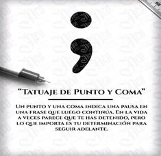 Best Inspirational Quotes About Life QUOTATION – Image : Quotes Of the day – Life Quote Tatuaje Punto y Coma Sharing is Caring – Keep QuotesDaily up, share this quote ! Mini Tattoos, Tattoos 3d, Finger Tattoos, Love Tattoos, Beautiful Tattoos, Body Art Tattoos, Small Tattoos, Tattos, Simbolos Tattoo