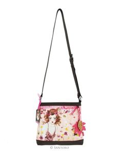 Shoulder Bag - Innocence, Santoro's Willow #bag #santoro #willow #santorowillow #minasmoke #pink #flower