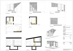 Sections created with Skalp for Sketchup.