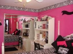 Thinking about doing the girls bedroom like this but in cheetah
