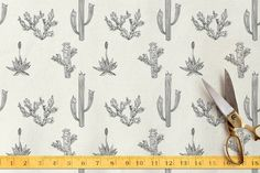 Texas Flora Fabric by R studio at minted.com