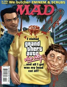 Cover for MAD (EC 1952 serie) #426 FEBRUARY 2003