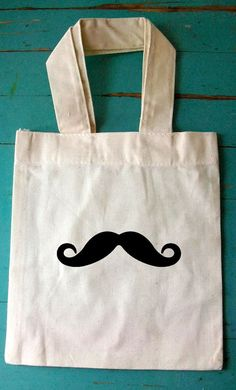 Little Man Mustache Bash- loot bags