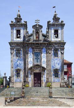 Iglesia de San Ildefonso, Oporto, Portugal