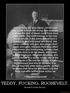 teddy roosevelt quotes on leadership