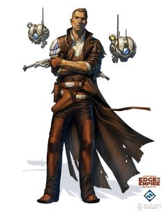 ArtStation - Star Wars: Edge of the Empire - Human Marshal, David Kegg