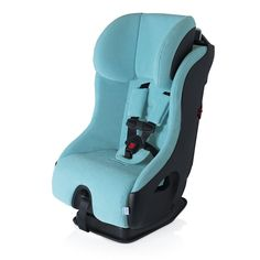 Although this car seat has a funny name, it is serious when it comes to safety features. The Clek Fllo is among the safest convertible car seats on the market, thanks to best-in-class safety features