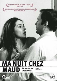"""Ma nuit chez Maud"" (1969). Country: France. Director: Éric Rohmer."