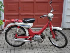 1972 Honda moped
