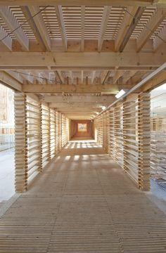 La Biennale di Venezia – People meet in Architecture - Wooden Timber Architecture, Architecture Details, Wooden Skyscraper, Timber Structure, Architectural Section, Timber House, House In The Woods, Wood Construction, Urban