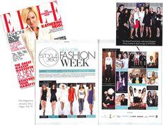 #BeautiControl in @ELLE Magazine (US) Magazine (US)  #NYFW #Style360