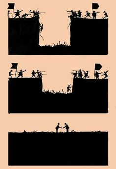 Funny pictures about War And Peace. Oh, and cool pics about War And Peace. Also, War And Peace photos. Drawing Quotes, Art Drawings, Satirical Illustrations, Meaningful Pictures, Deep Art, Social Art, Political Art, Humor Grafico, Statues