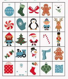 Man, I am loving the printables this week! I mentioned yesterday, but it has been FREEZING in our neck of the woods. Fun Family Christmas Games, Fun Christmas Party Ideas, Christmas Party Activities, Xmas Games, Christmas Bingo, Preschool Christmas, Christmas Gift Box, Christmas Printables, Christmas Projects
